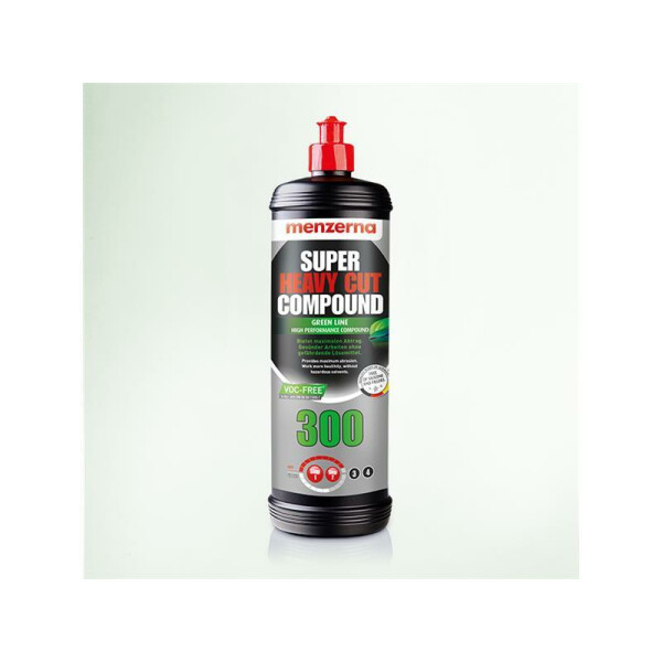 Menzerna Super Heavy Cut Compound 300 Green Line VOC-Free 250ml
